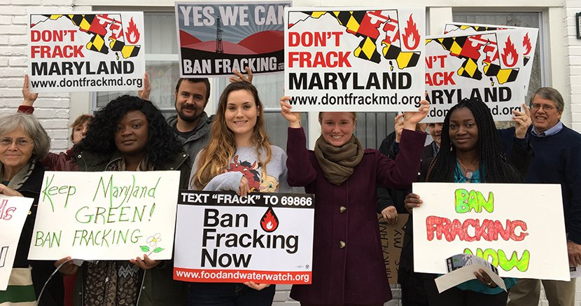 fracking week rally 2016 november 14 in baltimore maryland