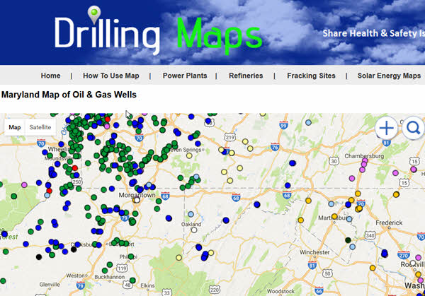Drilling Maps at www.drillingmaps.com